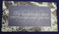 1997 UNCIRCULATED Genuine U.S. MINT SETS ISSUED BY U.S. MINT