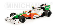 Minichamps Force India V. Liuzzi Coche A Escala 2010,1:43 Lim. 1008 Pieza