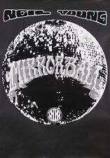 Neil Young 1995 Mirror Ball Original Promo Poster