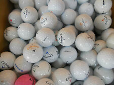50 Callaway Mix AAA-Premium Grade Golf Balls plus 10 plastic wedge tees