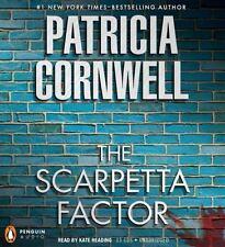 Kay Scarpetta: The Scarpetta Factor No. 17 by Patricia Cornwell (2009, CD, Unabr