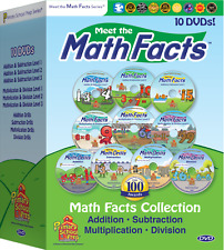 Preschool Prep Company | NEW 10 DVD Math Facts Collection