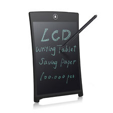 "8.5"" Black Digital LCD Writing Pad Tablet Electronic Drawing Board Notepad w Pen"