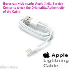 100% Original Apple™ 8 pin Lightning USB Data Cable iPhone iPad 5/5c/5s/6/6 +