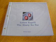 Lotus Esprit: The Story So Far