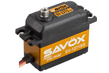 Savox SV1271SG Servo High Voltage Ultra Fast Standard Size 25kg/0.08@7.4v