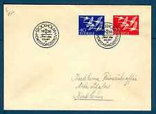 """SWEDEN - SVEZIA - 1956 - FDC -  """"NORDEN '56"""". Giornata dei Paesi del NordE2944"""