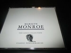 """COFFRET 2 CD """"MARILYN MONROE : THE GOLD COLLECTION"""" classic performances BEST OF"""