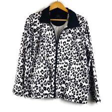 Leopardo Animal Print Cazadora abrigos, chaquetas y chalecos