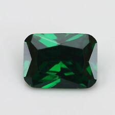6x8mm 2.48ct Natural Mined Green Emerald Emerald Cut VVS Loose Gemstone