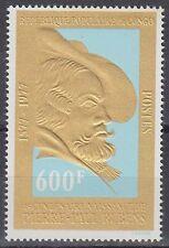 Kongo Congo 1977 ** Mi.590 Gemälde Paintings Rubens Gold Foil [sq5481]