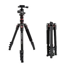 Professional Aluminum Travel Tripod&Ball Head Portable stand For DSLR Camera