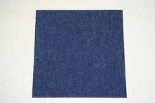 Quality  50cm x 50cm Commercial / Domestic Retail Carpet 12 Tiles Flooring blue