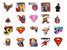 supergirl Iron on T Shirt heat Transfer diy marvel cartoon superheros