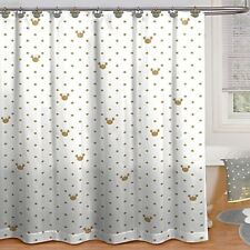 "Disney Minnie Mouse Shower Curtain Microfiber Machine Washable 72"" x 72"" NEW US"