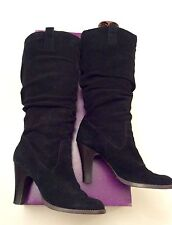New Look High (3-4.5 in.) Block Heel Pull On Boots for Women