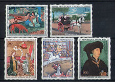 France 5 timbres non oblitérés gomme**  2  Art  peintures