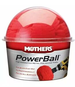 Mothers Power New Ball Metal Polishing Tool Automotive Drill Polisher Attachment