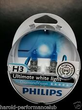 Philips H3 Diamond Vision  H3  bulbs design in Germany  12336DVS2