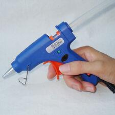 20W Melt Glue Gun Stick Heater Trigger EU Plug Electric Repair Tool Craft New