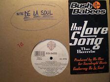 """BUSH BABEES - THE LOVE SONG (+REMIX) (12"""") 1996!! RARE!!  MOS DEF + DE LA SOUL!!"""