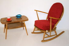 Ercol Rocking Chair-fully restored. Easy Chair. Choice of fabrics. 2 available
