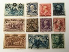 old stamps  USA  x 11