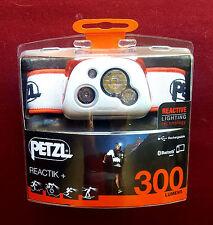 Petzl Reactik + E95HMI Bluetooth Headlamp 300 Lumens - Coral  *NEW*
