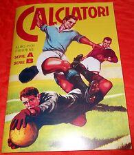 ALBUM ANASTATICO CALCIATORI LAMPO 1959-60 CON 198 FIGURINE