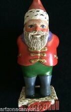 Leo Smith 1998 Santa Ornament Midwest Excellent Condition