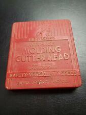 Vintage Craftsman Roto-vise Molding Cutter Head #9-2289 For Bench Saws Orig Case