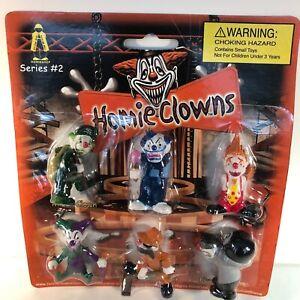 "Homie Clowns - Packaged set of 6 PSYCHO CLOWN figures - Homies stand 1 3/4"""