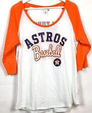 Houston Astros Jose Altuve Womens Raglan Glitter T Shirt 5th & Ocean By New Era