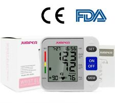 LCD Digital Wrist Blood Pressure Monitor Meter Tonometer Tensiometer CE & FDA