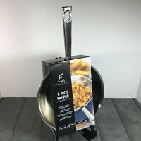 "Emeril 8"" Frying Pan Stir Fry Sauce Pan Stainless Skillet Oven Safe All Cooktops"