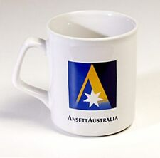 ANSETT AUSTRALIA COFFEE MUGS x 4