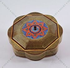 hand painted copper box, jewelry Organizing Box/ Thanksgiving/ Christmas gift