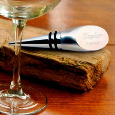 Wine Bottle Stopper - Engraved - Personalized -(189)