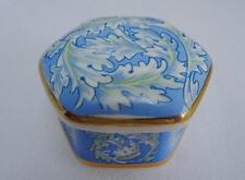 William Morris Baratija Olla Pastillero Porcelana de acanto Museo de Porcelana China.