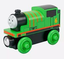 Percy Wooden Train Thomas & Friends Real Wood Fisher-Price NEW
