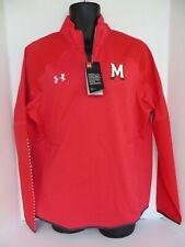 Under Armour Maryland Terrapins Men's  Sweatshirt  Red Size L