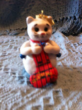 "NOS PETSMART 2001 LUV A PET ""SNOWKITTY"" CHRISTMAS ORNAMENT"