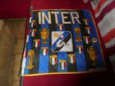 Ancien Fanion Drapeau du Club de Foot Football INTER de MILAN MILANO 1971