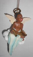 """Ebony Visions """"On The Wings of Praise"""" 1998 Ornament Retired"""