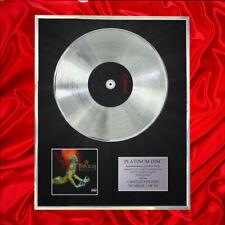 More details for trivium ascendency cd platinum disc award display
