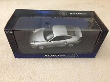 1/18 Porsche 911 996 Turbo Coupe Silver AutoArt Very Rare!