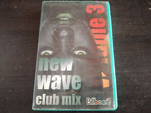 VARIOUS ARTISTS - New Wave Club Mix 3 CASSETTE TAPE / Made In Indonesia