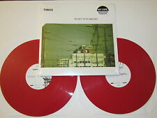 THRICE The Artist In The Ambulance DOUBLE LP RED VINYL UNPLAYED