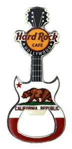 Hard Rock Hollywood California State Flag Magnet Bottle Opener