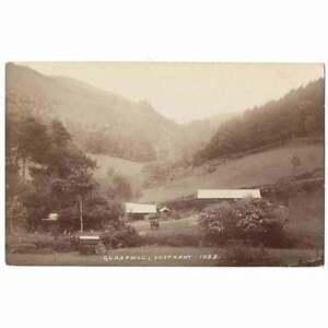 GLANRAFON FARM Cardiganshire RP Postcard by George, Unused